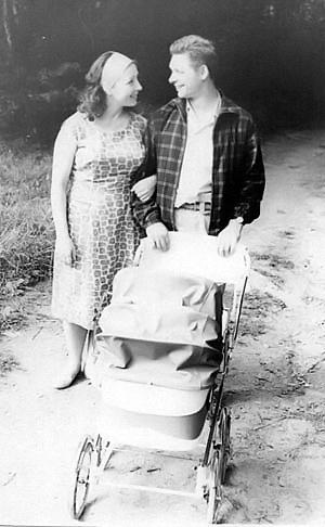 1966 год. Семья Хилей на отдыхе.