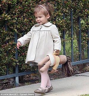 Крошка Хонор Мари - настоящая маленькая модница. Фото: Daily Mail.