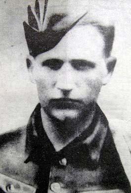 Комиссар партизанского отряда «Ермак» Леонид Железняк.