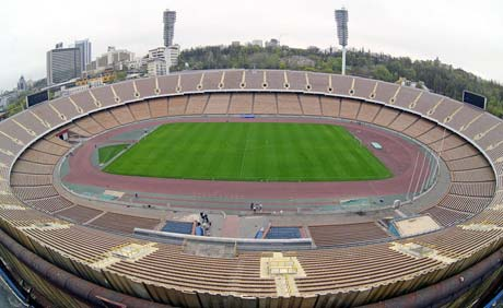 ... а так должен выглядеть «Олимпийский» к открытию чемпионата.