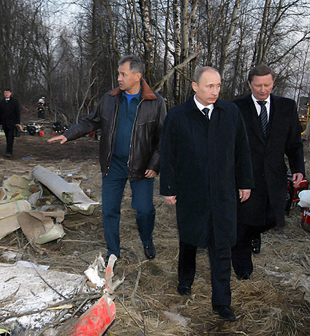 Владимир Путин возглавил комиссию по расследованию причин крушения лайнера. Фото: РИА