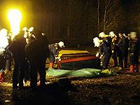 Спасатели работали и днем и ночью...