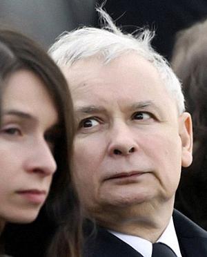 Марта Качиньская и Ярослав Качиньский. Фото: wiadomosci.gazeta.pl.