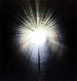 Чаще всего перед смертью видят тоннель, ведущий к яркому свету.