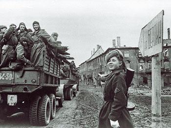 Часть Валентина Аливанцева участвовала в штурме Берлина.