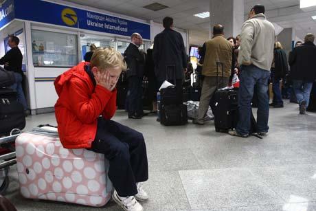 Пять тысяч пассажиров «зависли» в Борисполе.