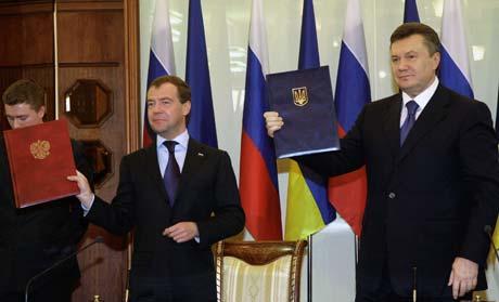 Виктор Янукович - об итогах переговоров с президентом России: «Приняты решения, которые были нами выстраданы».
