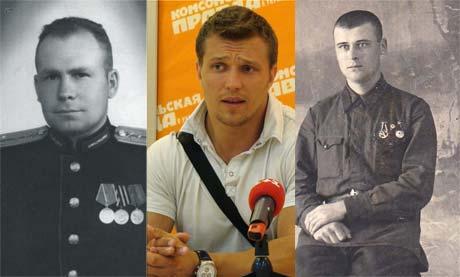 Оба деда Сергея - Владимир Кириллович (слева) и Григорий Михайлович с честью прошли войну.