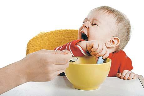 - Уберите кашу – тьфу на витамины ваши!