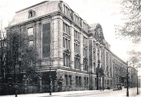 Здание гестапо в Берлине, в котором работал Леман. Во время войны оно было разрушено.