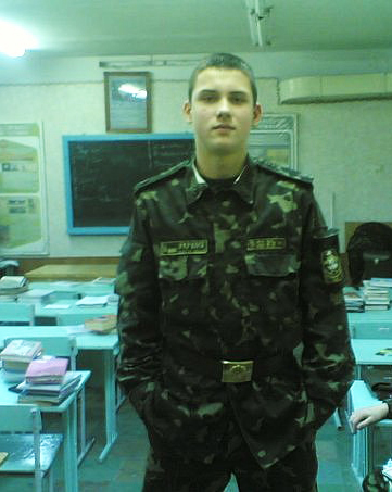 У погибшего Андрея Герасимова была мечта - поступить во Львовское военное училище и стать офицером... Фото с сайта www.vkontakte.ru