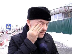 Покидая Украину, вор в законе Кардава прослезился.