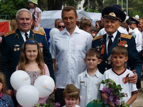 9 Мая - праздник настоящих патриотов.