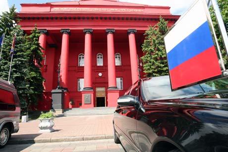 Студентов, не участвовавших во встрече с президентом РФ, не пускали в университет с главного входа.