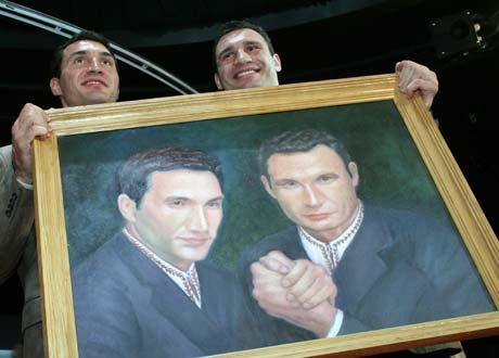 Братья-боксеры Кличко - из казацкого рода.