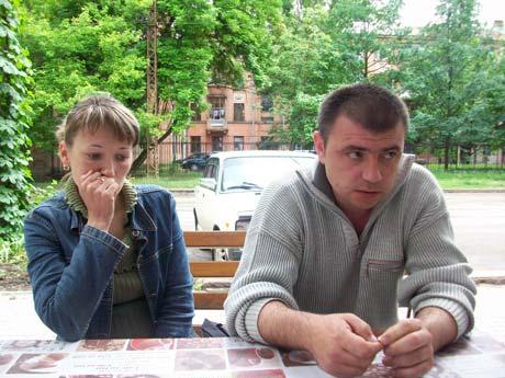 Родители девочки Наталья и Владимир Везеринские.