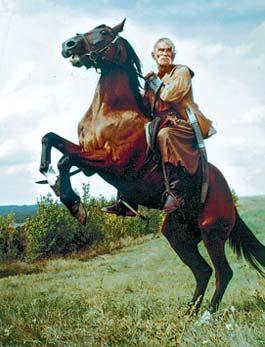 Роль в «Тарасе Бульбе» стала для Сердюка последней в кино.