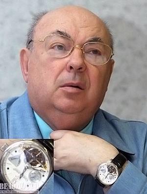 Самые дорогие часы у Владимира Ресина.