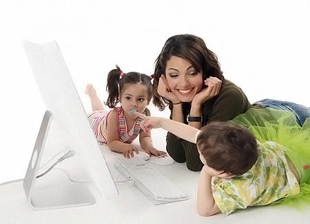 Решающую роль при выборе няни играет реакция на нее детей.