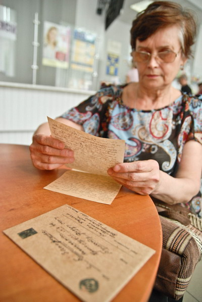 Читая письмо, родственница адресата не верила, что ему почти семь десятков лет.