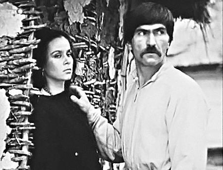 С Любовью Полищук Лесь Сердюк встретился на съемках фильма «Вавилон ХХ».