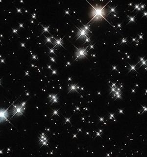 Звезды светят в ночи неугасимыми лампадами.