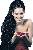 Ева Ривас - самая высокая участница конкурса «Евровидение-2010». Ее рост - 1 метр 93 сантиметра!