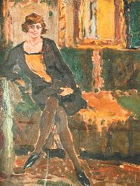 «Портрет сестры художника».
