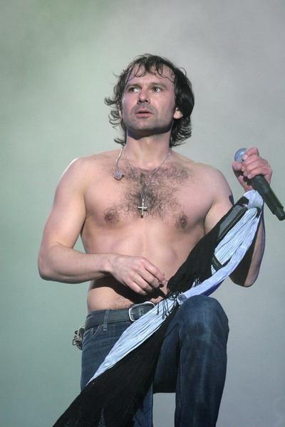 Святослав Вакарчук в хорошей форме! Фото Павла Дацковского