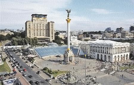 Главный отель Украины на Майдане Незалежности не реставрировался с 1964 года.