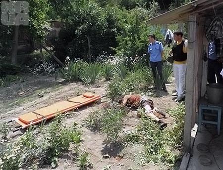 В общей сложности мужчина произвел около десяти выстрелов. Пожилой сосед скончался. Фото: ГУ МВД в Крыму