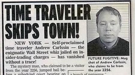 Для пущего правдоподобия газеты печатали даже портреты «миллионера из будущего».