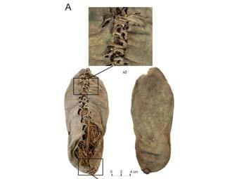 Башмак был найден в Армении. Фото: ©AP