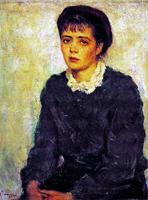Портрет жены. Нина Виноградова-Бенуа. 1955 г.