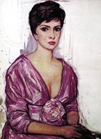 Портрет Джины Лоллобриджиды. 1963 г.
