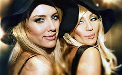 Две подружки-блондинки: Оля Горбачева и Ира Билык.