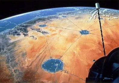 «Водная сеть» для пустынь.