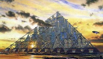 Колоссальная пирамида Mega-City.