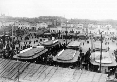 Озерный базар после реконструкции. 1936 г.