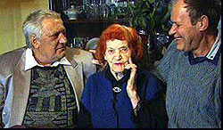 Семья Александры Найды воссоединилась через 60 лет - справа Борис, слева Алик