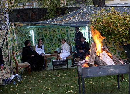 Для ливийца шатер символизирует гостеприимство, благородство, готовность помочь нуждающимся