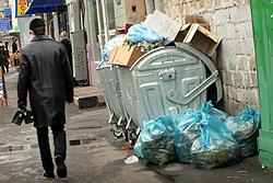 Такая картина типична для киевских улиц