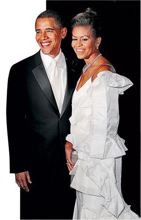 Барак Обама и Мишель похожи на пару из голливудской сказки.