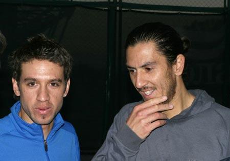 Гильермо Каньяс (справа) - Осмару Феррейре: «Земляк, где отметим встречу?»