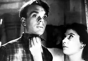 Кадр из фильма «Летят журавли». Баталов и Самойлова столь пронзительно изобразили любовь, что зрители после выхода картины поженили их.