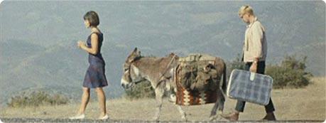 В «Кавказской пленнице» ослик ходил за Ниной по пятам.