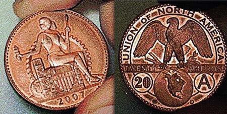 Так, возможно, будут выглядеть монеты амеро.