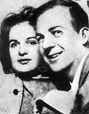 Ли и Марина Освальд после свадьбы в апреле 1961 года в Минске.