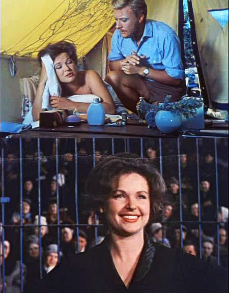 О своих отношениях с Мироновым, которые начались со съемок фильма «Три плюс два», Наталья говорить не хочет.