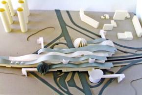 По замыслу архитекторов линию на Троещину должны покрыть пластиковой крышей.